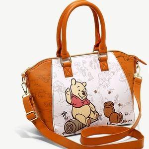 NWT Loungefly Winnie the Pooh Satchel